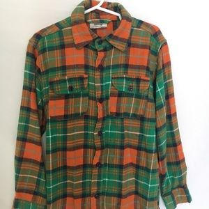 Wes and Willy flannel button down